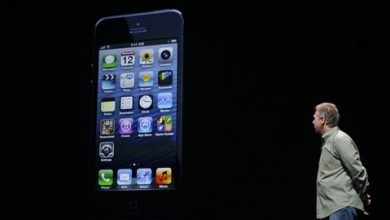 Phil Schiller vice president d Apple presente l iPhone 5 le 12 septembre