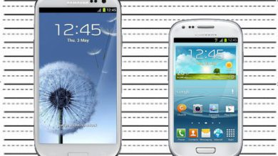 Photo de Comparaison du Samsung Galaxy S3 mini face au Samsung Galaxy S3
