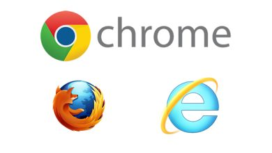 Photo de Web : Internet Explorer continue à chuter face à Firefox et Chrome