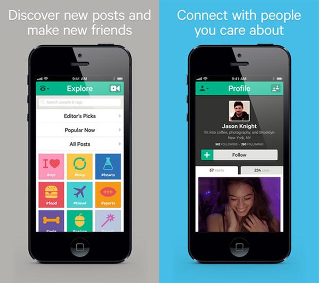Capture d'écran depuis un iPhone