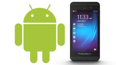Photo de BlackBerry 10 : les yeux doux vers les applications Android 4.1