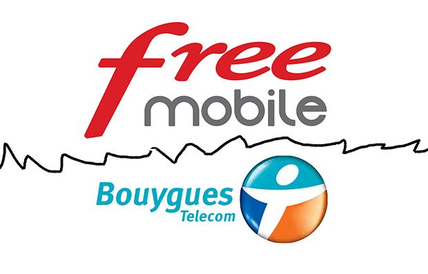 bouygues telecom free mobile doit passer a la caisse