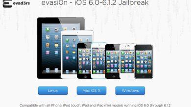 jailbreak evasi0n toujours compatible avec ios 6 1 2