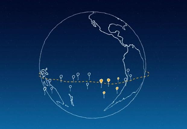 Project Loon de Google : Google invente des ballons pour apporter Internet dans les régions isolées