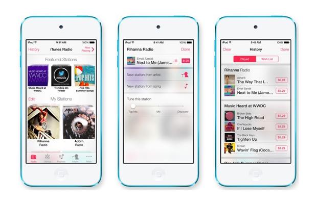 iTunes Radio : Apple officialise sa radio en ligne