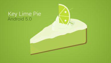 Photo de Android 5.0 Key Lime Pie : arrivée avec le prochain Nexus 7 ?
