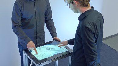 Fiberio : un écran tactile capable de lire les empreintes digitales
