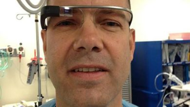 Photo de Google Glass : déjà un usage médical ?