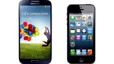 Photo de Smartphone : le Galaxy S4 serait-il plus aimé que l'iPhone 5 ?