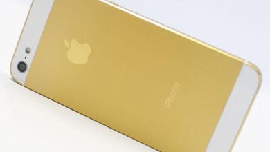 Photo de iPhone 5S : jaune, or ou « champagne » ?