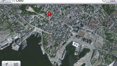 Photo de Norvège : Apple devra se passer des vues 3D destinées à la cartographie