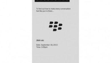 Photo of 18 septembre : que nous réserve BlackBerry ?