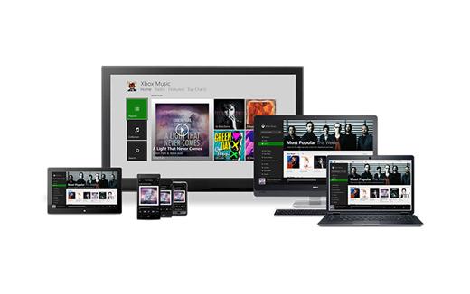Android et iOS : Microsoft lance sa Xbox Music
