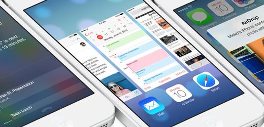 Les animations visuelles d'iOS 7 provoquent la nausée ?
