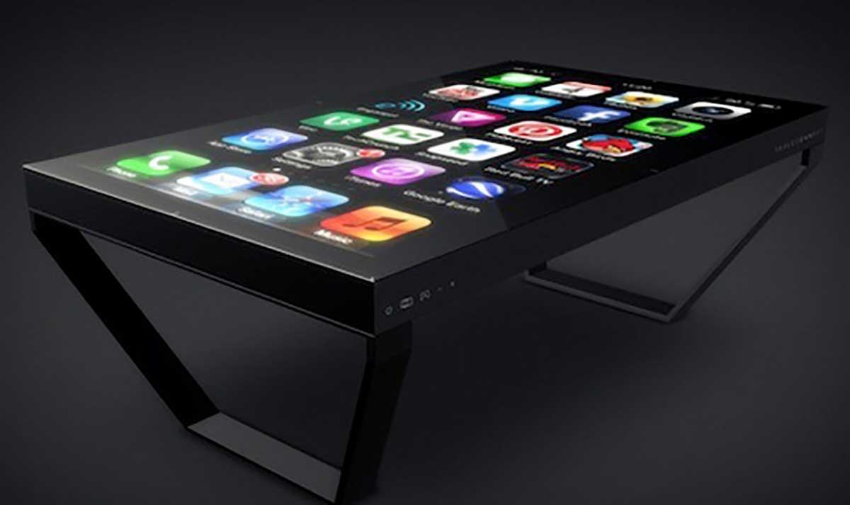 Un iPhone transféré vers une table baptisée TableConnect
