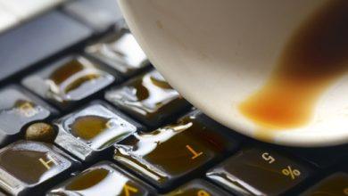 Photo of Eau ou café sur votre ordinateur ? Comment réagir face aux liquides ?