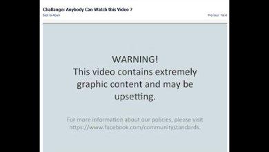 Facebook ajoute des messages d'avertissement aux vidéos violentes.