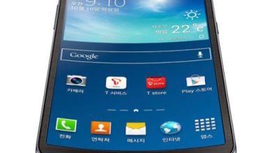 Photo de Galaxy Round : le premier smartphone à écran incurvé est sorti !