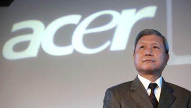 Photo de Acer : son PDG jette l'éponge