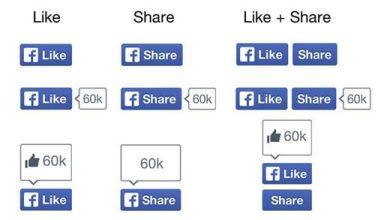 """Facebook inaugure de nouveaux boutons """"J'aime"""" et """"Partager"""""""