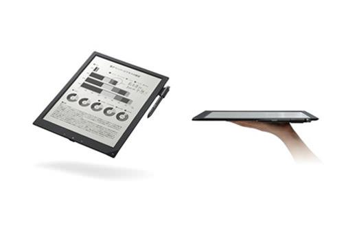 Sony dévoile la tablette de papier numérique la plus fine au monde pour le Japon