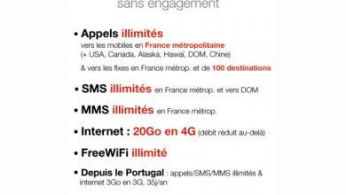 Free lance officiellement son offre 4G : 20 Go pour 19,99€/mois !
