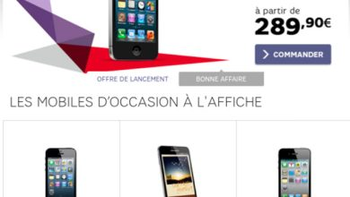 Photo of SFR : place aux mobiles d'occasion