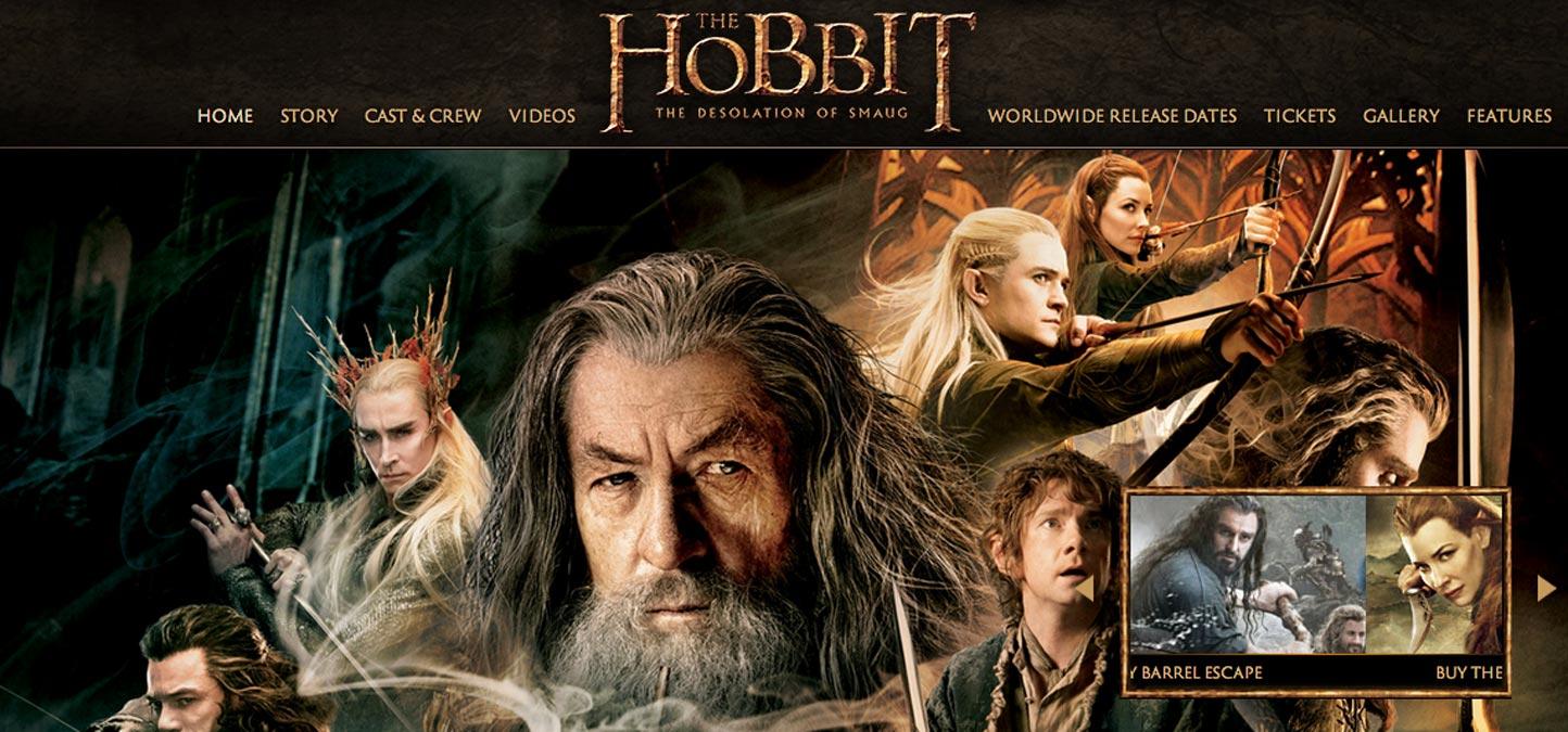 """""""Le Hobbit"""" en tête du top 10 des films les plus piratés en 2013"""