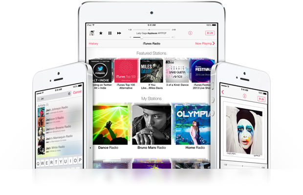 iTunes Radio débarque à l'international