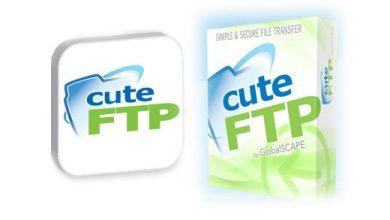 Photo de CuteFTP : client FTP
