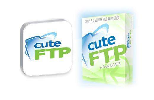 CuteFTP : client FTP 1