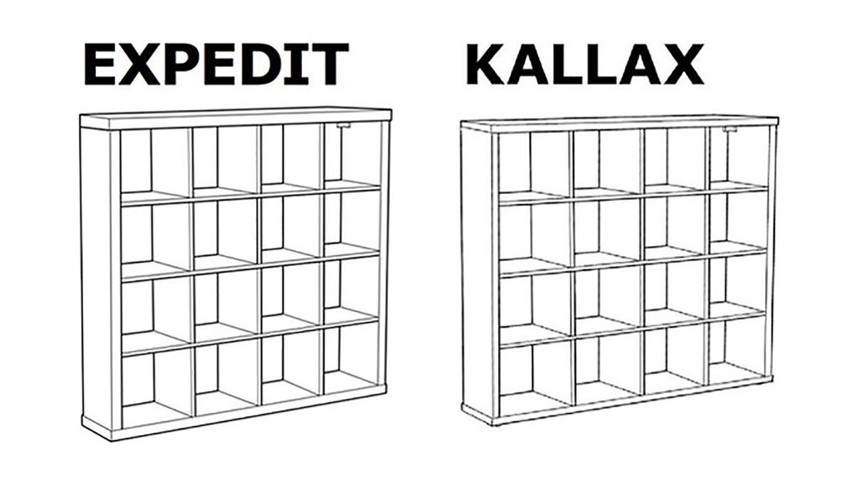 Pourquoi Ikea remplace l'étagère Expedit