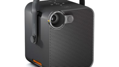 Photo de Orange lance Le Bloc, un mini-projecteur connecté