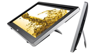 Photo de Windows 8 : AOC lance des moniteurs tactiles spécifiques