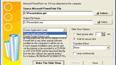 Photo de PowerPoint Slide Show Converter : transforme vos présentations en auto-exécutable