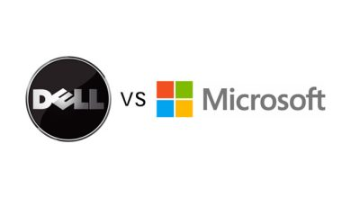 Photo de Microsoft vs Dell : accord de partage de leur propriété intellectuelle