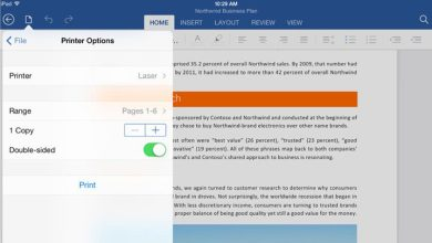 Office sur iPad : l'impression via Wi-fi désormais prise en charge