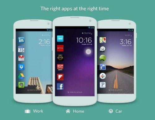 Android : Twitter s'offre le launcher Cover