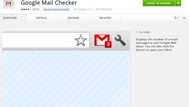 Photo de Notification de vos emails par Google Mail Checker