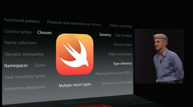 WWDC 2014 : Xcode, Swift remplace Objective-C