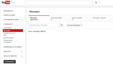 Photo de YouTube s'enrichit d'un nouveau système de messagerie
