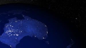 Australie : le 3e étage en combustion d'une fusée illumine le ciel