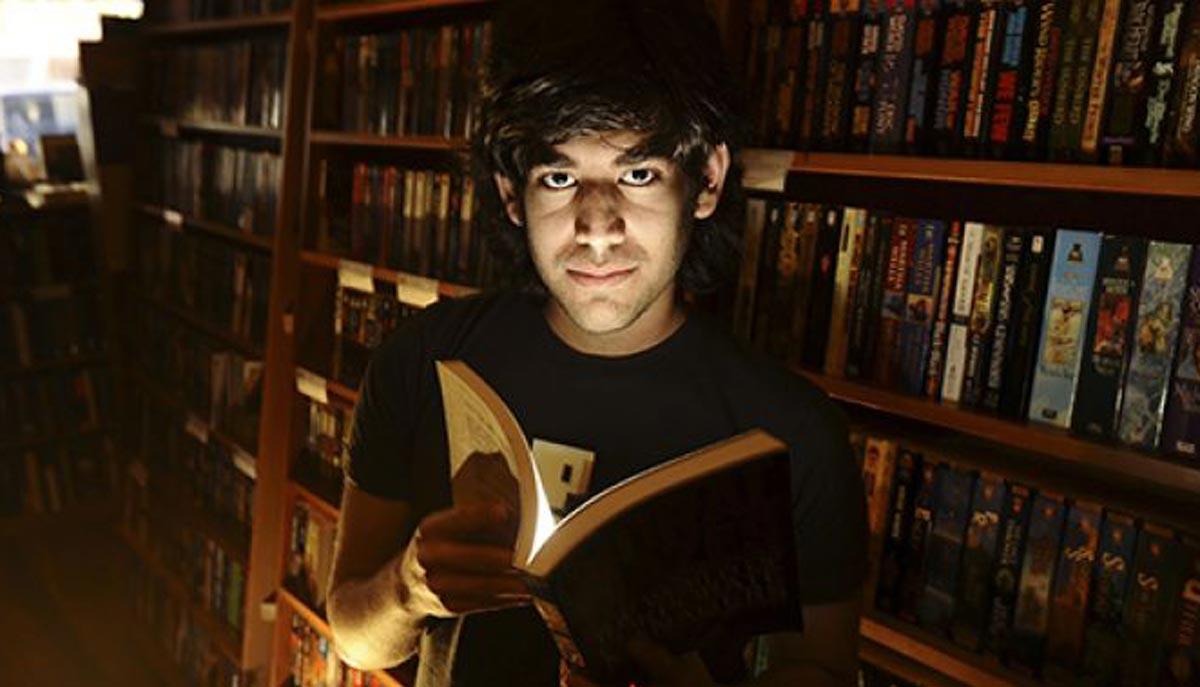Affiche de « The Internet's Own Boy », le documentaire consacré à Aaron Swartz.