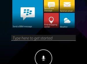 Photo of BlackBerry se dote également de son assistant vocal