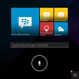 BlackBerry dévoile son assistant vocal