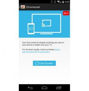 Chromecast : le mirroring arrive pour certains appareils Android