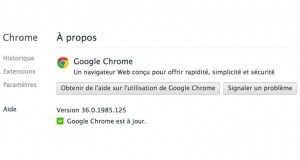 Chrome 36 : nouveau mode Incognito et support de Chromecast sur Android