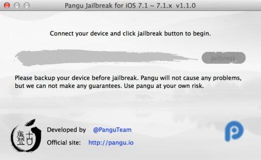 Le jailbreak d'iOS 7.1.1 en anglais et pour Mac