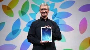 Photo de L'iPad est l'outil de prédilection de Tim Cook