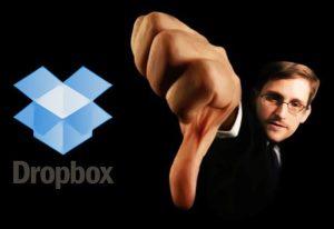 Edward Snowden vous déconseille l'utilisation de Dropbox
